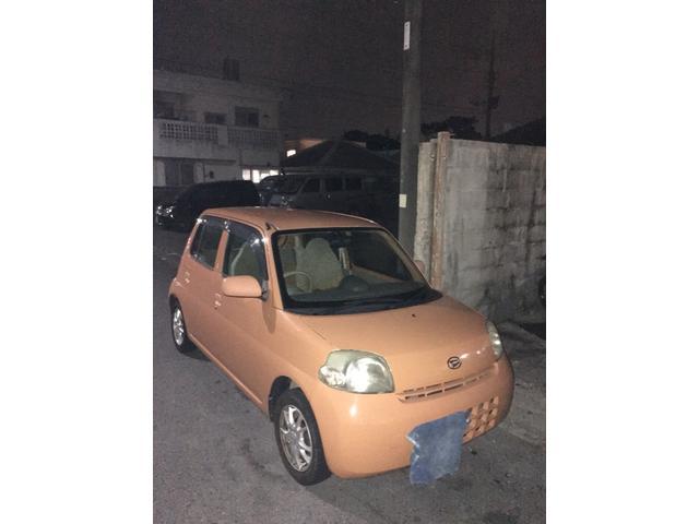 沖縄の中古車 ダイハツ エッセ 車両価格 6万円 リ済込 2006(平成18)年 9.2万km オレンジ