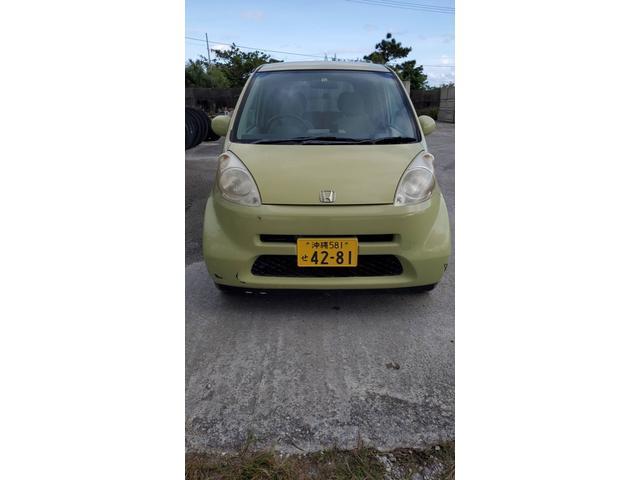 沖縄の中古車 ホンダ ライフ 車両価格 5万円 リ済込 2004(平成16)年 17.3万km グリーン