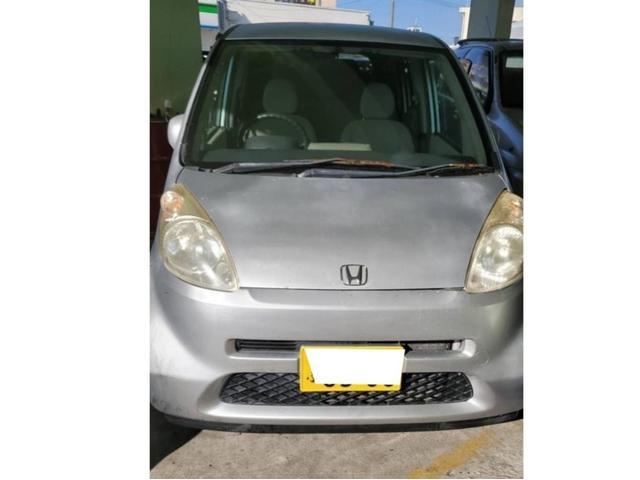 沖縄の中古車 ホンダ ライフ 車両価格 11万円 リ済込 2006(平成18)年 6.2万km ライトシルバー