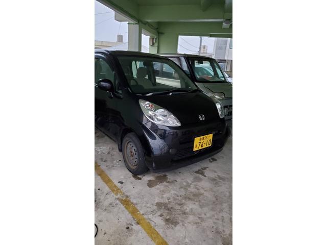 沖縄の中古車 ホンダ ライフ 車両価格 11万円 リ済込 2004(平成16)年 7.4万km ブラック
