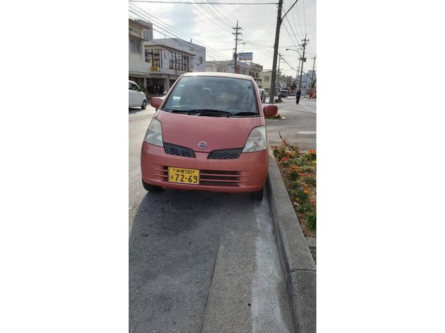 沖縄県那覇市の中古車ならモコ C バッテリー新品、エンジンオイル交換サービス