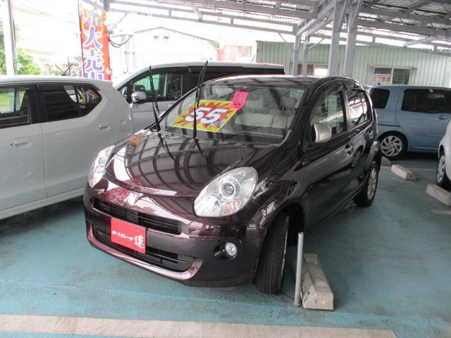 沖縄の中古車 トヨタ パッソ 車両価格 55万円 リ済込 平成23年 5.6万km ワインM