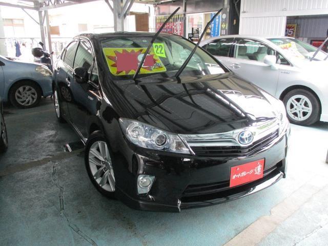沖縄の中古車 トヨタ SAI 車両価格 119万円 リ済込 平成22年 5.5万km ブラックM