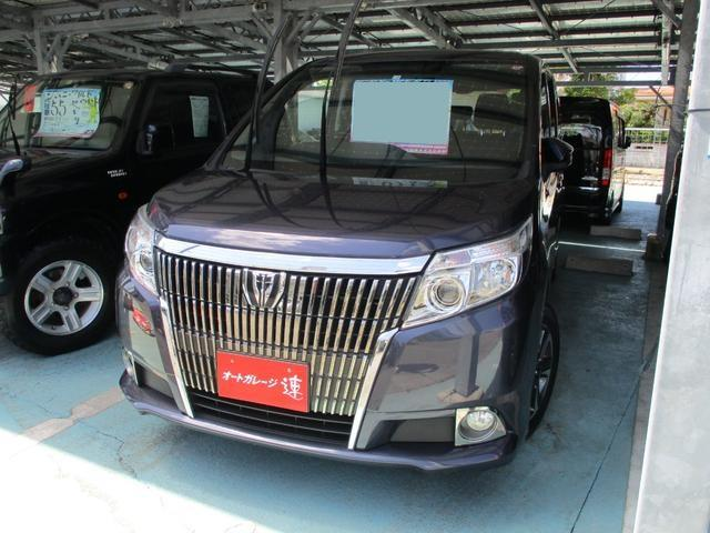 沖縄県の中古車ならエスクァイア XiTVフリップダウンモニター