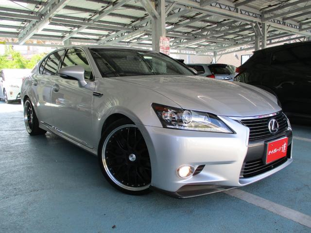 沖縄の中古車 レクサス GS 車両価格 189万円 リ済込 2012(平成24)年 9.1万km シルバーM