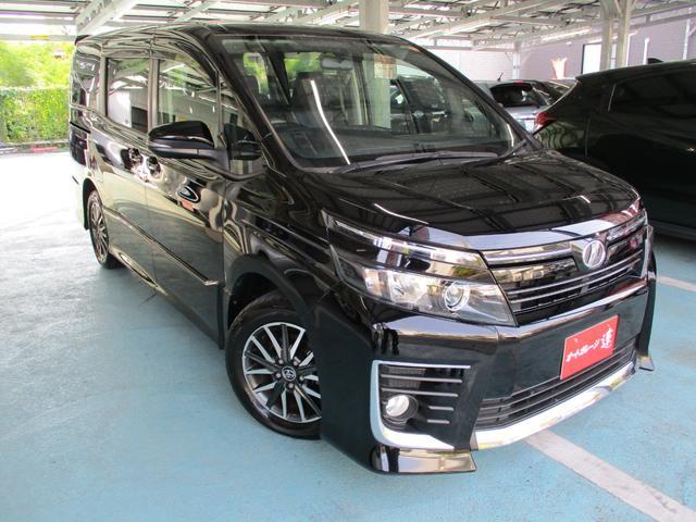 沖縄の中古車 トヨタ ヴォクシー 車両価格 169万円 リ済込 2014(平成26)年 7.9万km ブラックM