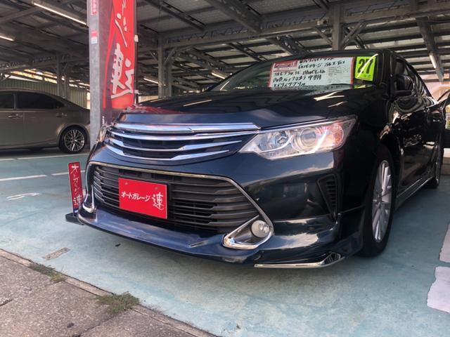 沖縄県の中古車ならカムリ ハイブリッド Gパッケージ モデリスタグリルフルセグTVバックモニターBluetoothDVD