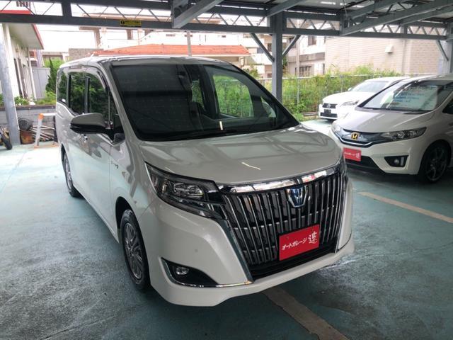 トヨタ ハイブリッドGi 9インチナビTV Bluetooth DVDバックカメラフリップダウンモニター両側パワースライド