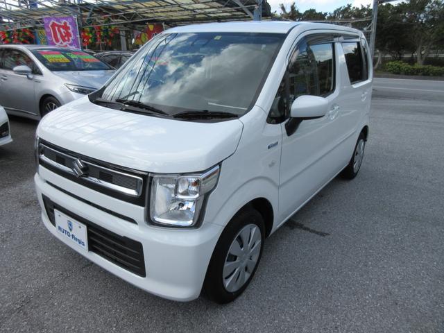 沖縄の中古車 スズキ ワゴンR 車両価格 106万円 リ済込 2019(平成31)年 2.3万km ホワイト