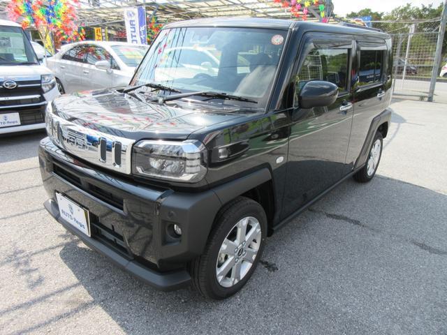 沖縄の中古車 ダイハツ タフト 車両価格 175万円 リ済込 2021(令和3)年 30km ブラックマイカメタリック