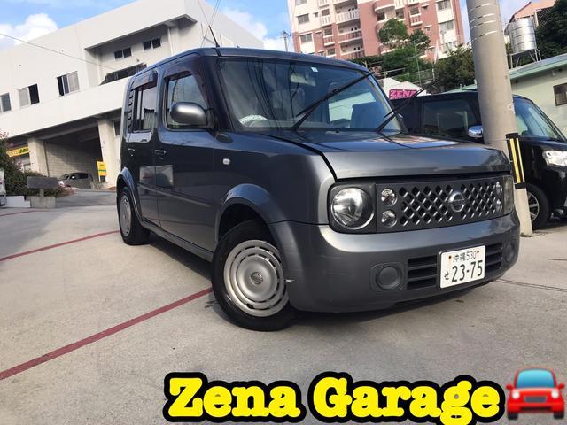 沖縄県の中古車ならキューブ 2年保証付き バックカメラ BLUETOOTH