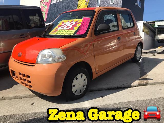 沖縄の中古車 ダイハツ エッセ 車両価格 23万円 リ済込 2006(平成18)年 6.0万km ツートン