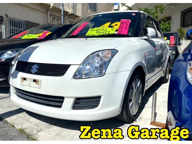 沖縄の中古車 スズキ スイフト 車両価格 43万円 リ済込 2010(平成22)年 5.6万km ホワイト