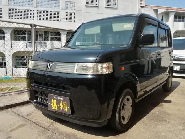 沖縄の中古車 ホンダ ザッツ 車両価格 15万円 リ済込 平成18年 14.0万km ブラック