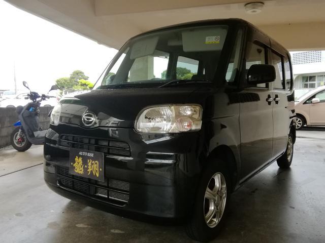 沖縄の中古車 ダイハツ タント 車両価格 25万円 リ済込 2010(平成22)年 15.8万km ブラック