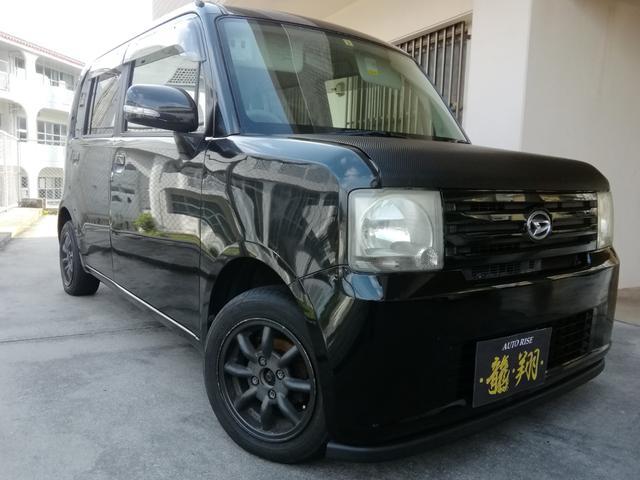 沖縄の中古車 ダイハツ ムーヴコンテ 車両価格 20万円 リ済込 2009(平成21)年 15.5万km ブラック