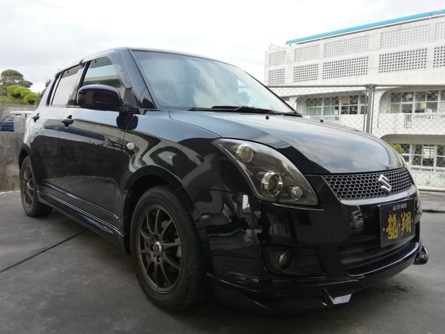 沖縄の中古車 スズキ スイフト 車両価格 48万円 リ済込 2009(平成21)年 9.2万km ブラック