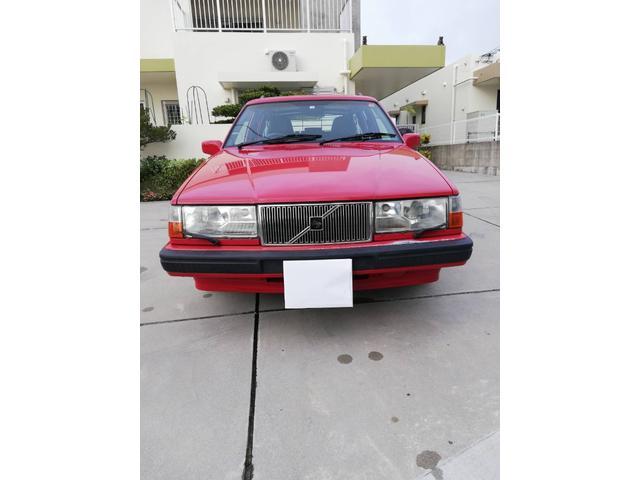 沖縄の中古車 ボルボ 240ワゴン 車両価格 74万円 リ済込 1996(平成8)年 7.9万km レッド