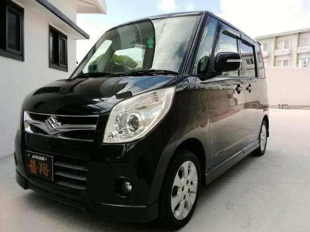 沖縄の中古車 スズキ パレット 車両価格 18万円 リ済込 2008(平成20)年 17.8万km ブラック