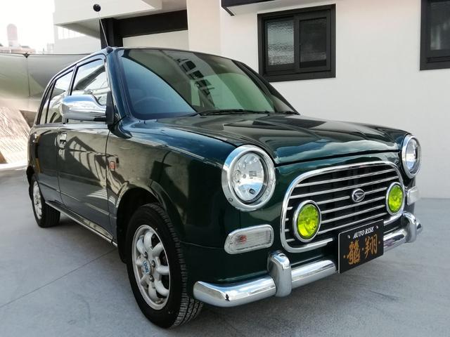 沖縄の中古車 ダイハツ ミラジーノ 車両価格 38万円 リ済込 2003(平成15)年 14.5万km グリーン