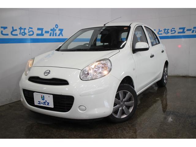 沖縄の中古車 日産 マーチ 車両価格 48万円 リ済別 2012(平成24)年 5.3万km パールホワイト
