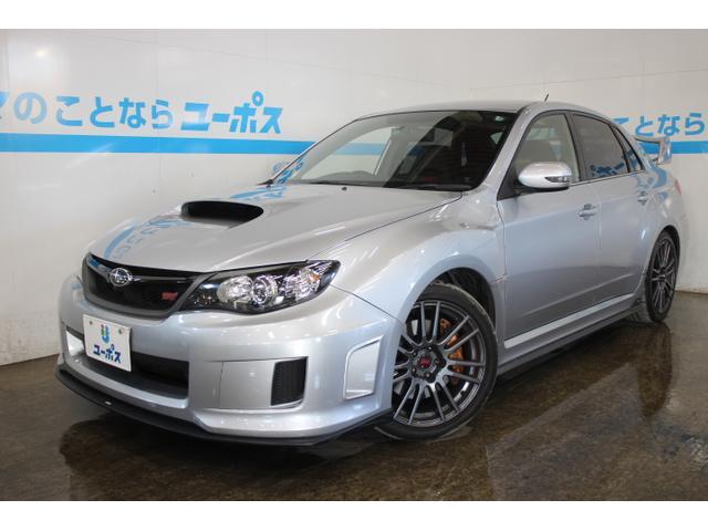 沖縄県の中古車ならインプレッサ WRX STi スペックC OP10年保証対象車 純正エアロ