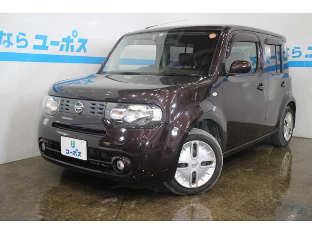 沖縄の中古車 日産 キューブ 車両価格 65万円 リ済別 2012(平成24)年 7.2万km ビターショコラP