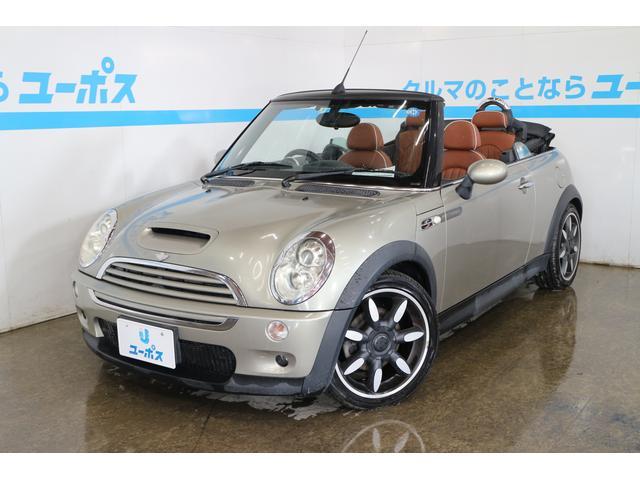 沖縄県の中古車ならMINI クーパーS コンバーチブル サイドウォーク ブラウンレザー