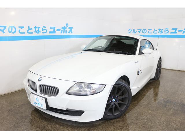 BMW Z4 クーペ3.0si HDDナビ パワーシート シートヒーター パドルシフト