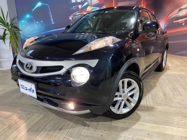 沖縄の中古車 日産 ジューク 車両価格 73万円 リ済別 2012(平成24)年 7.4万km サファイアブラックP