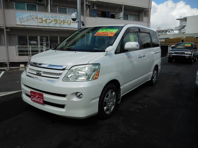 沖縄の中古車 トヨタ ノア 車両価格 33万円 リ済込 平成19年 11.1万km ホワイト