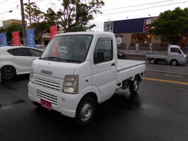沖縄県の中古車ならキャリイトラック  フルタイム4WD 純正オーディオ レンタカーアップ