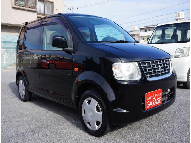 沖縄の中古車 三菱 eKワゴン 車両価格 16万円 リ済別 2010(平成22)年 12.0万km ブラック