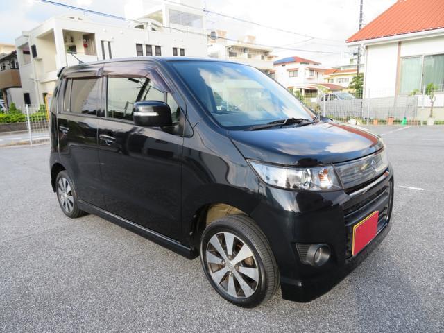 沖縄県の中古車ならワゴンRスティングレー リミデットII2年保証 無事故車 SDナビ TVフルセグ