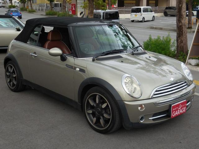 沖縄県の中古車ならMINI クーパー コンバーチブル サイドウォーク