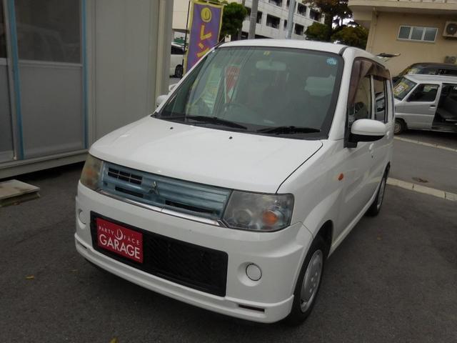 沖縄の中古車 三菱 トッポ 車両価格 18万円 リ済別 2010(平成22)年 12.3万km ホワイト