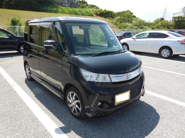 沖縄の中古車 スズキ パレットSW 車両価格 35万円 リ済別 2011(平成23)年 7.0万km スパークブラックパール
