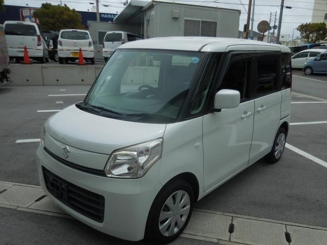 沖縄県の中古車ならスペーシア X DVDナビ ETC アイドリングストップ プッシュスタート スマートキー