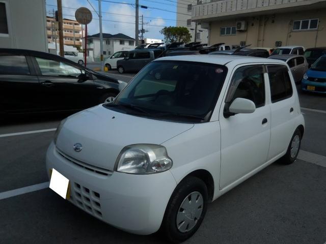 沖縄の中古車 ダイハツ エッセ 車両価格 8万円 リ済別 2010(平成22)年 10.3万km ホワイト