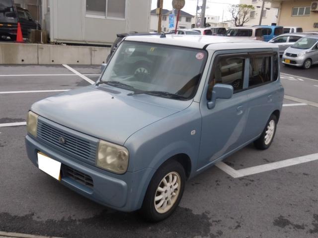 沖縄の中古車 スズキ アルトラパン 車両価格 7万円 リ済別 2002(平成14)年 14.1万km ブルーII