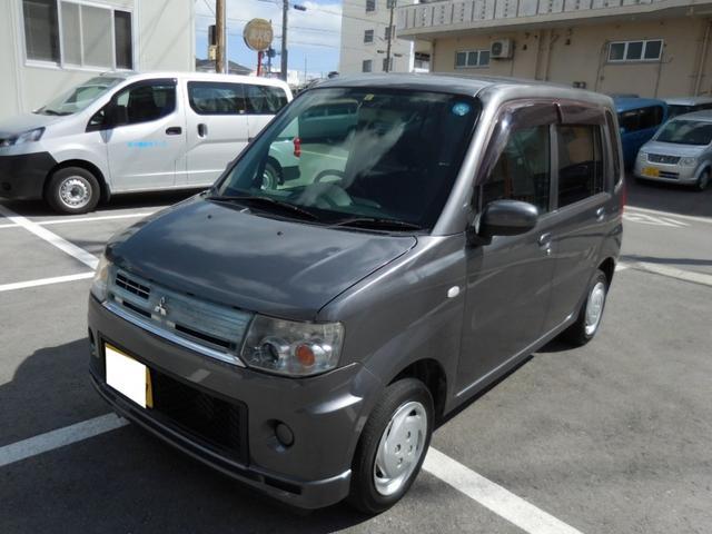 沖縄の中古車 三菱 トッポ 車両価格 18万円 リ済別 2010(平成22)年 14.7万km グレー