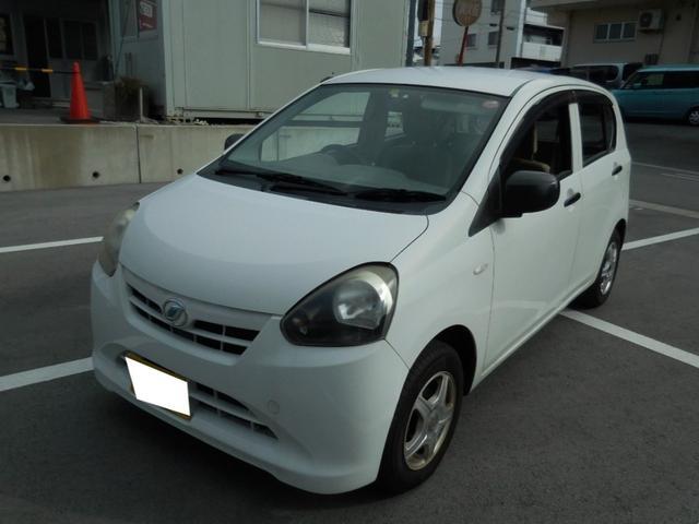 沖縄の中古車 ダイハツ ミライース 車両価格 10万円 リ済込 2011(平成23)年 10.1万km ホワイト