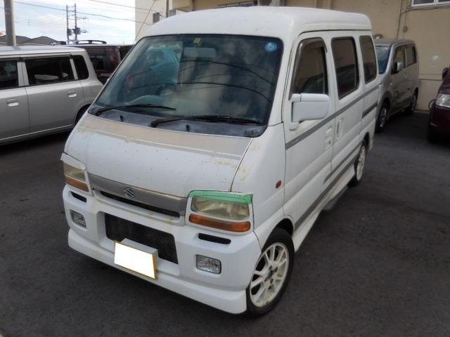 沖縄県うるま市の中古車ならエブリイワゴン スポーツ