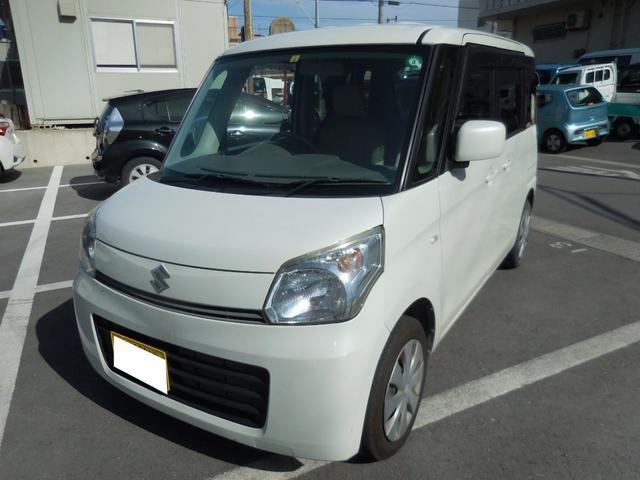 沖縄県の中古車ならスペーシア X ユーザー買取車 バックカメラ スマートキー プッシュスタート片側パワースライドドア