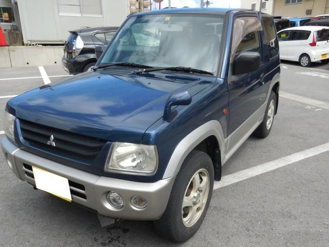 沖縄県の中古車ならパジェロミニ X ユーザー買取車 フォグランプ
