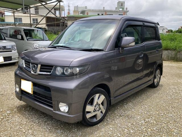 沖縄の中古車 ホンダ ゼストスパーク 車両価格 25万円 リ済込 2009(平成21)年 9.8万km ガンM