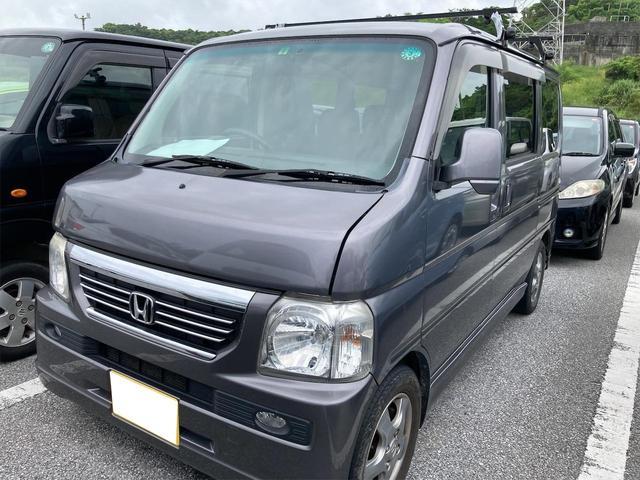 沖縄県の中古車ならバモス L・スタイリッシュパッケージ ユーザー買取車 ETC