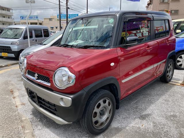 沖縄の中古車 スズキ ハスラー 車両価格 39万円 リ済込 2014(平成26)年 17.0万km レッド