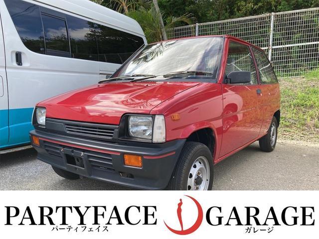 沖縄の中古車 三菱 ミニカ 車両価格 49万円 リ済込 1987(昭和62)年 5.0万km レッド