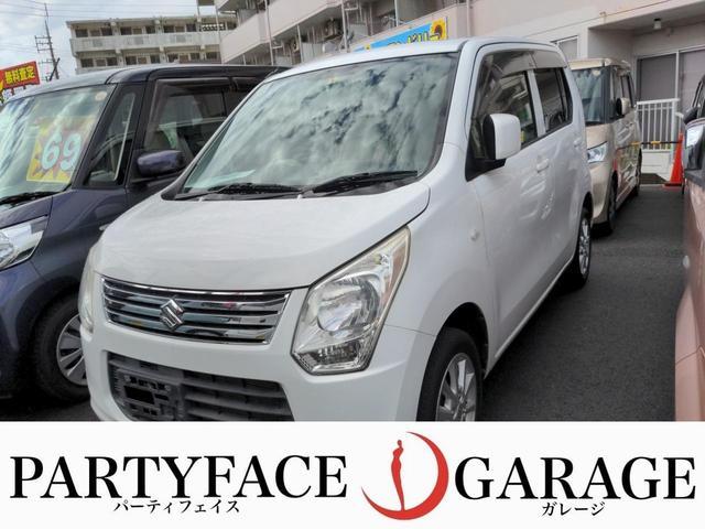 沖縄県の中古車ならワゴンR FX ユーザー買取車 5速マニュアル車 社外アルミホイール